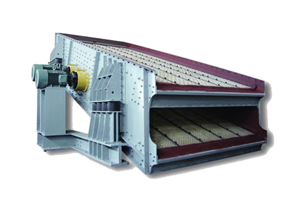 Large circular vibrating screen
